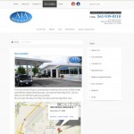 Auto Service Website - Google Maps Location