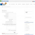 Rentals Booking OnLine functionality / form