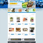 RWD Magento homepage with sliding banner