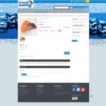 Product Page design for Magento ecommerce.
