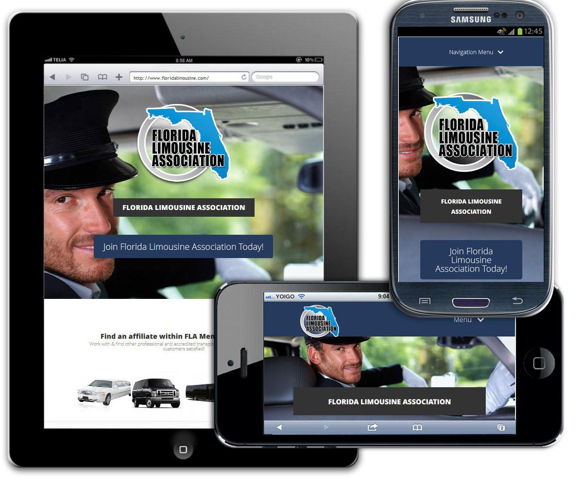 Limo Website Design In Fort Lauderdale