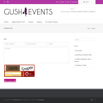 Contact Us - Gush Events