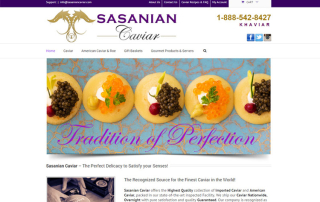 Food Restaurant Web Design