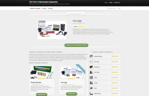 Ecig Reviews Web Design