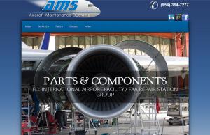 Aerial Business Web Design