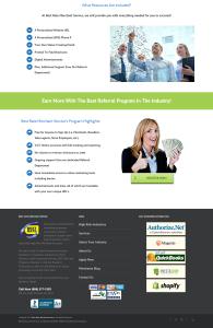 Custom web design layout