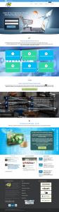 Modern Homepage Design